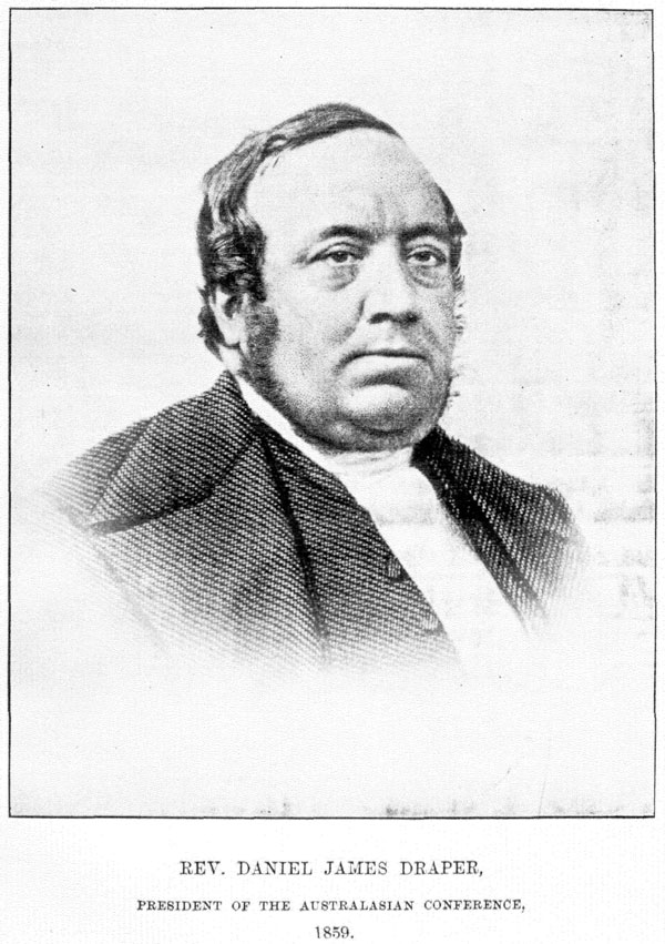 Reverend Daniel Draper