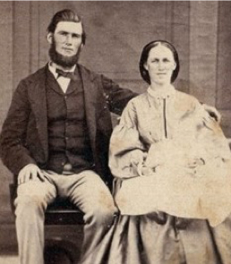 Figure 3 William Jacobs and Mary Ann Mildwaters wed 1864
