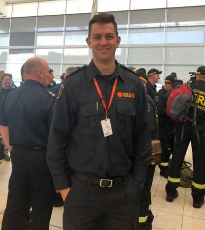 Senior Firefighter, Hayden Linggood