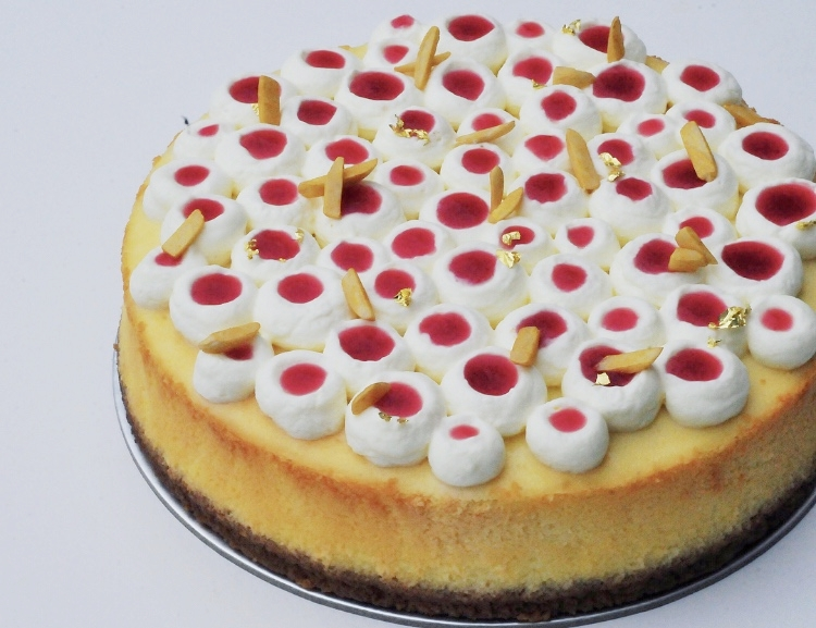 Mon Cheri Gulab Jamun Rose Cheesecake
