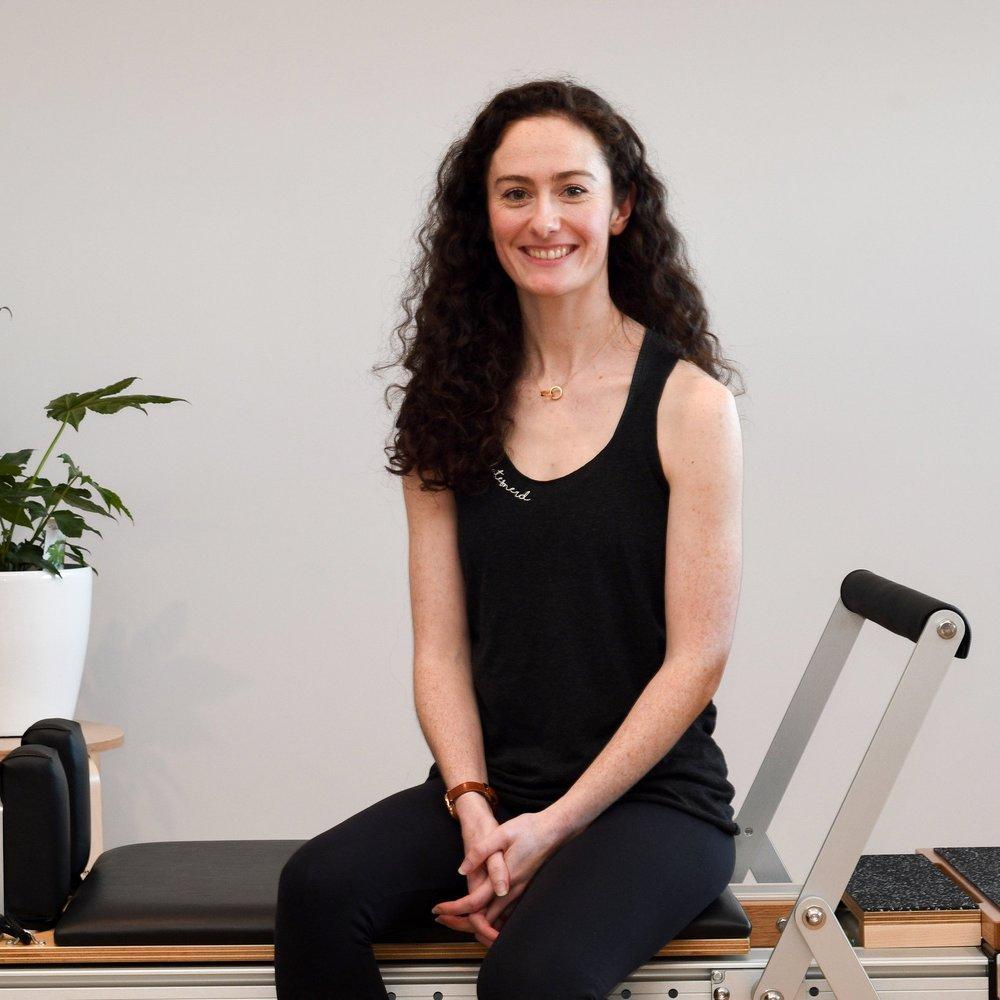 Melissa Jones Pilates instructor