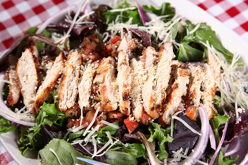 Chicken Bruschetta Salad