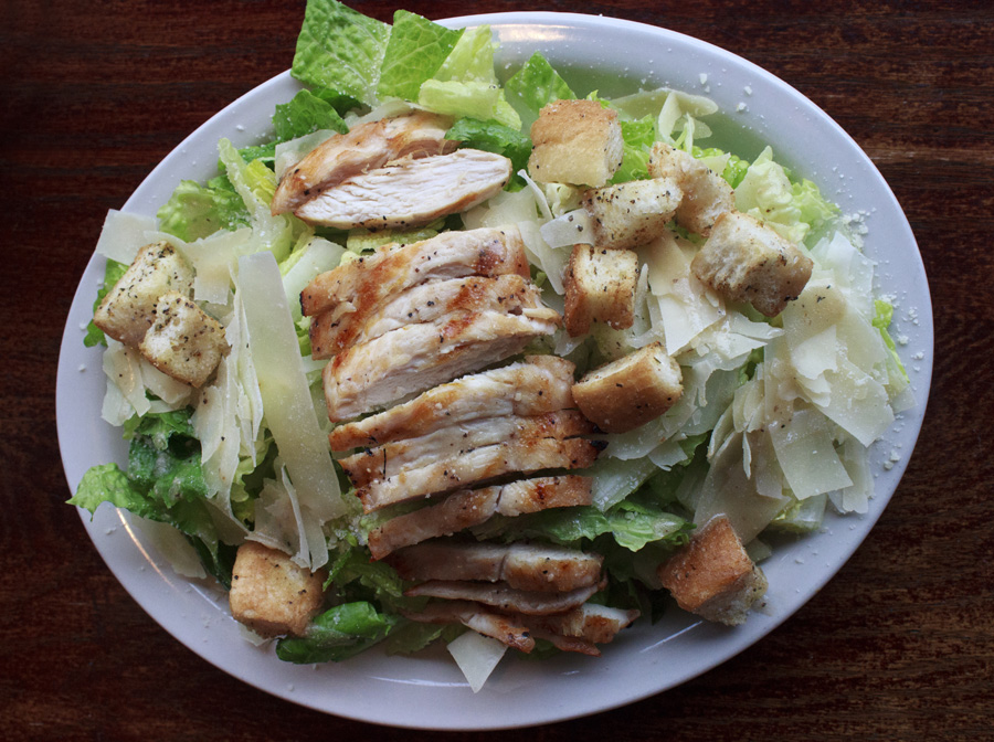 Caesar Salad W/ Grilled Chicken