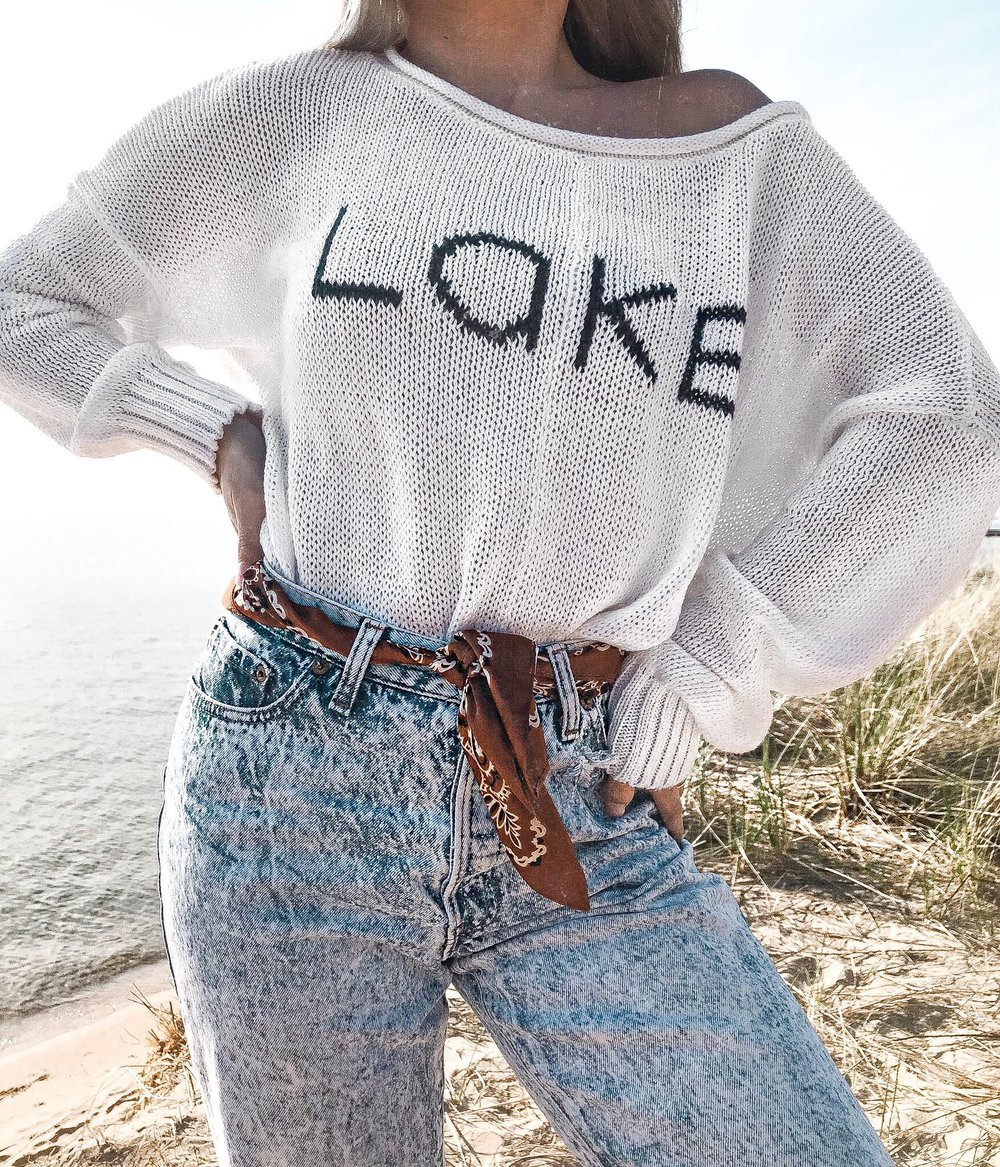 Lake Daze With Wooden Ships Knits Marielhiggs