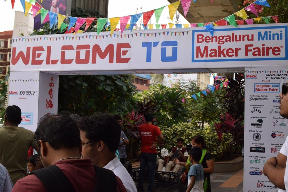 Bangalore Mini Maker Faire 2016