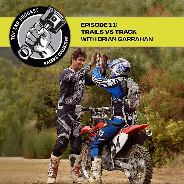 In episode 11, Brian Garrahan comes on the show to discuss the differences between trail and track riding. The founder of Garrahan Offroad Training(GOT), Brian Garrahan, has been riding since childhood and racing as a professional at the highest levels of the sport for over 20 years. He's raced world-wide in nine ISDE Enduros, six of which were for The Team USA World Trophy Team, earning five gold medals, one silver, and one bronze. He's a three time national Hare Scramble champion and the winner of over 20 national events;  a multiple District 36 champion, and winner of several GNCC, National Enduro, and OMA races. Chris Adams, owner of RX Moto SF joins the show to chat about his store in Belmont, CA.