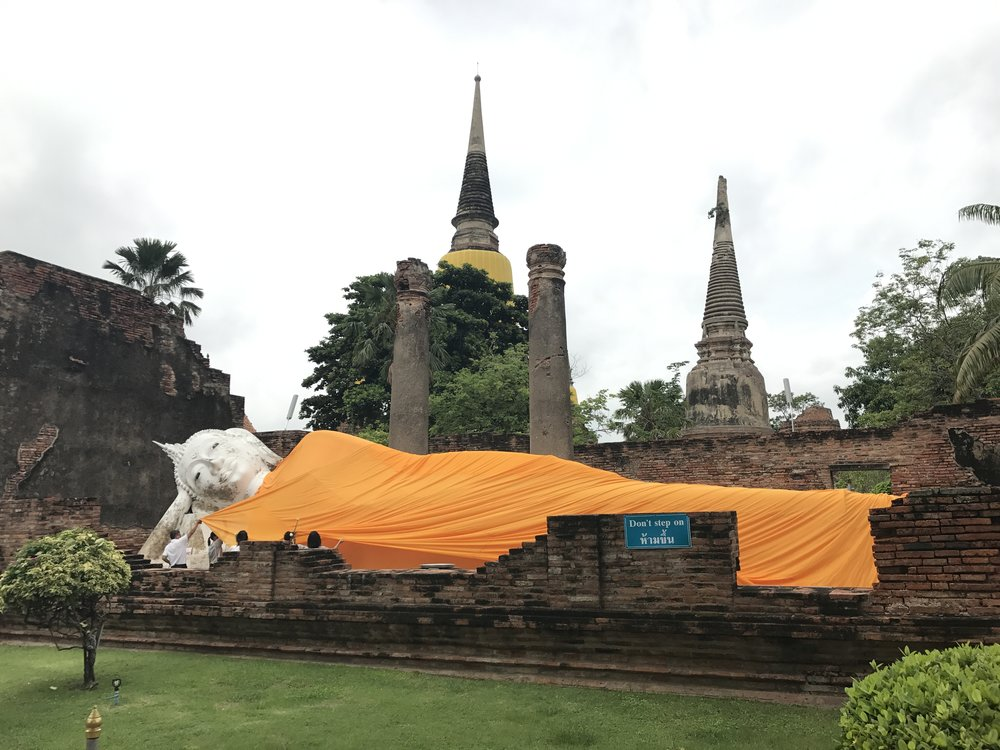 Wat Yai Chaimongkon, Ayutthaya, Thailand
