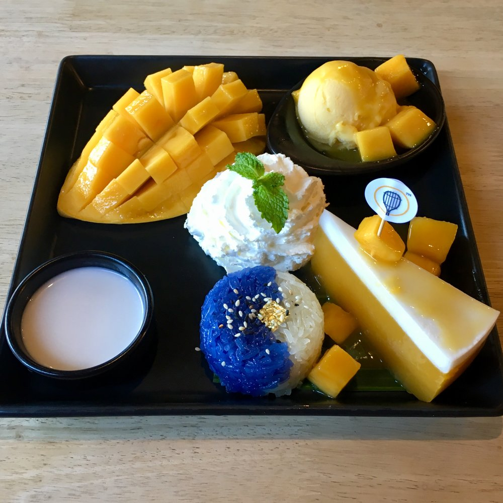 """Mango Parade"" dessert from   The Mango Garden   on Ko Phi Phi island"