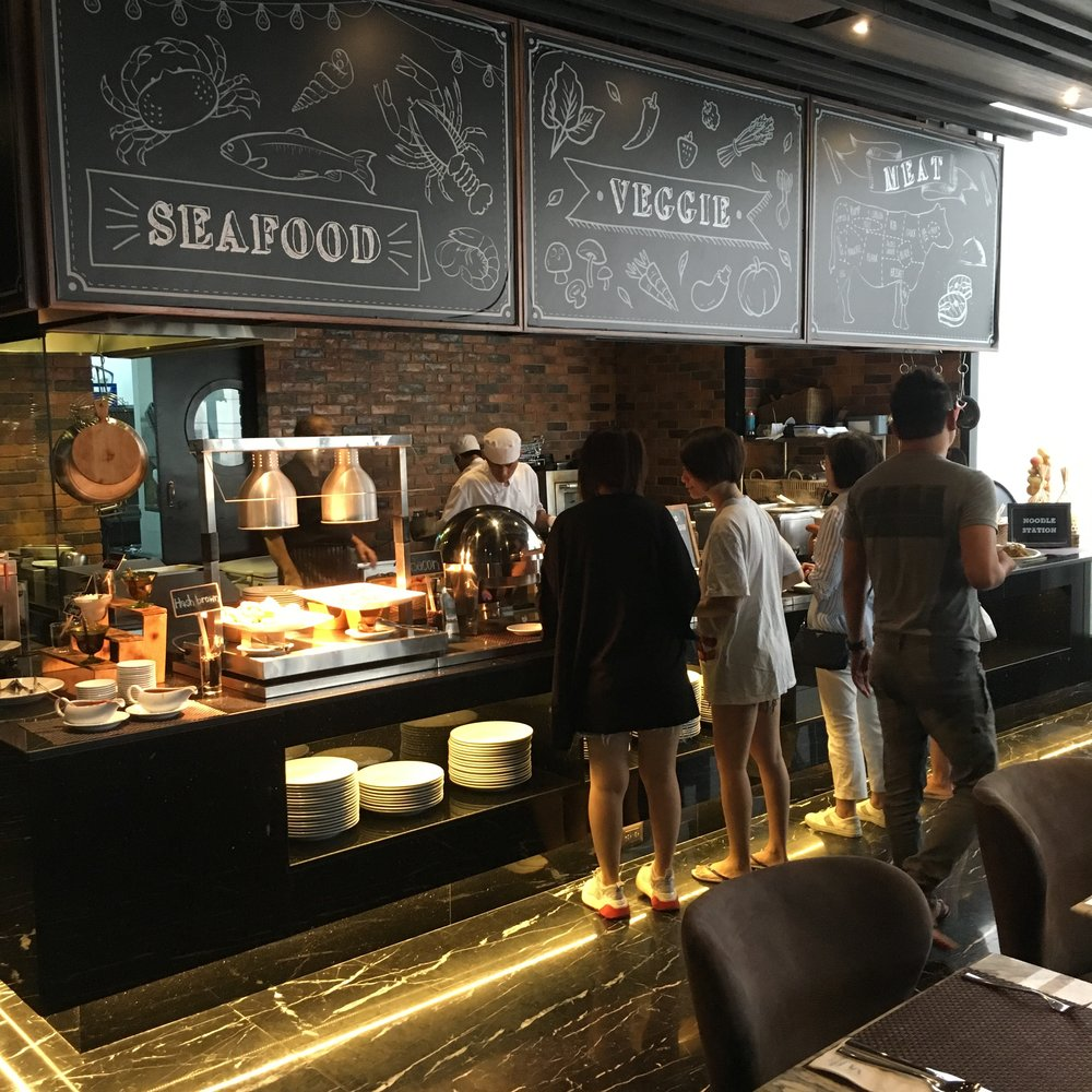 The included breakfast buffet was solid and had good quality food, if not as crazy-expansive as the buffets at some of the other large international 5-star hotels in Bangkok