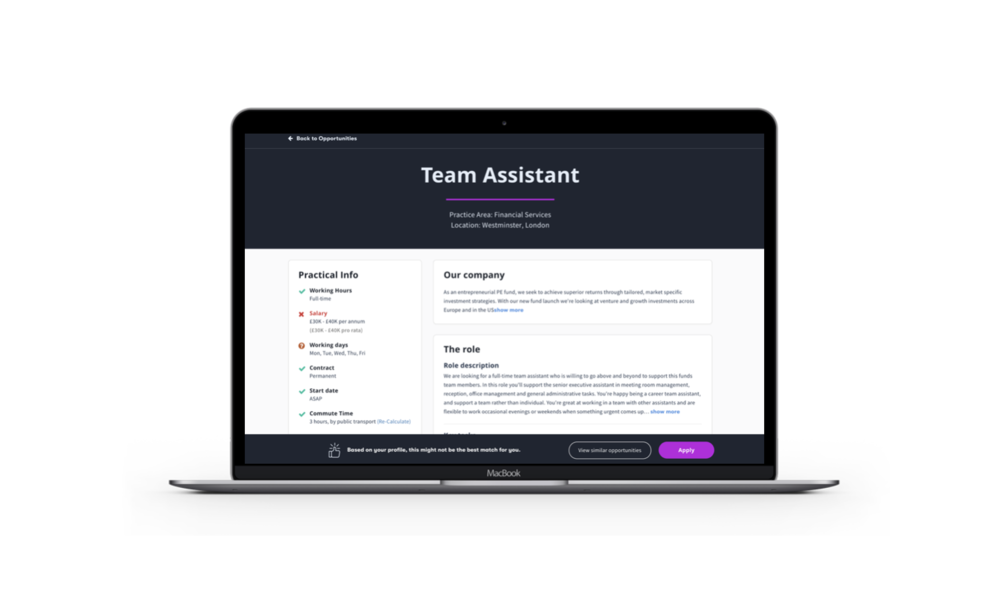 Jump-Work-team-assistant-job-description-page