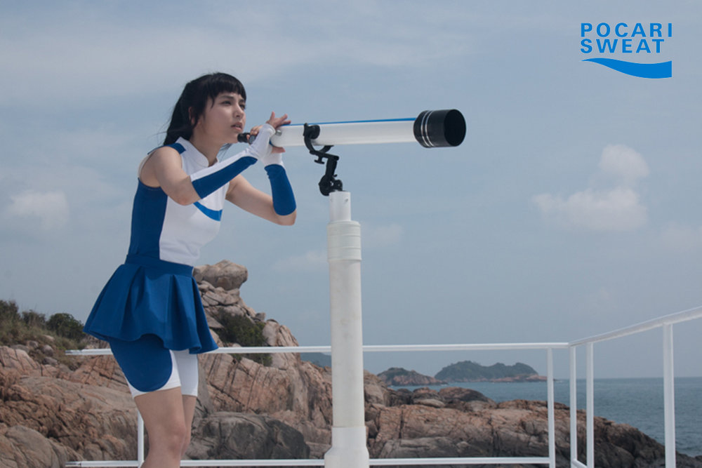 The great opportunity lies in Yuki Sasou, a new Pocari Sweat's brand ambassador known as Pocari Sweat Watch Girl. The signature of her   Japanese-kawaii      has a great potency  to be more than just an Ambassador.