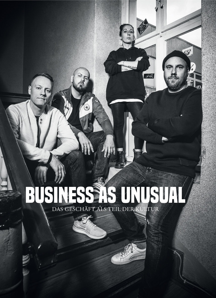 JUICE MAGAZINE - BUSINESS AS UNUSUAL