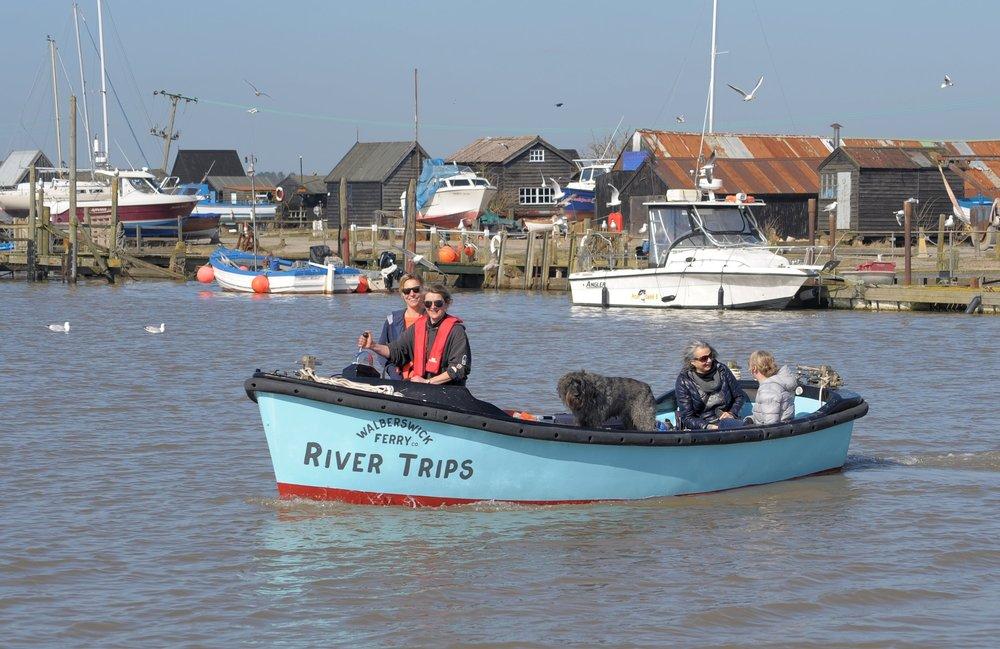 Walberswick Ferry -