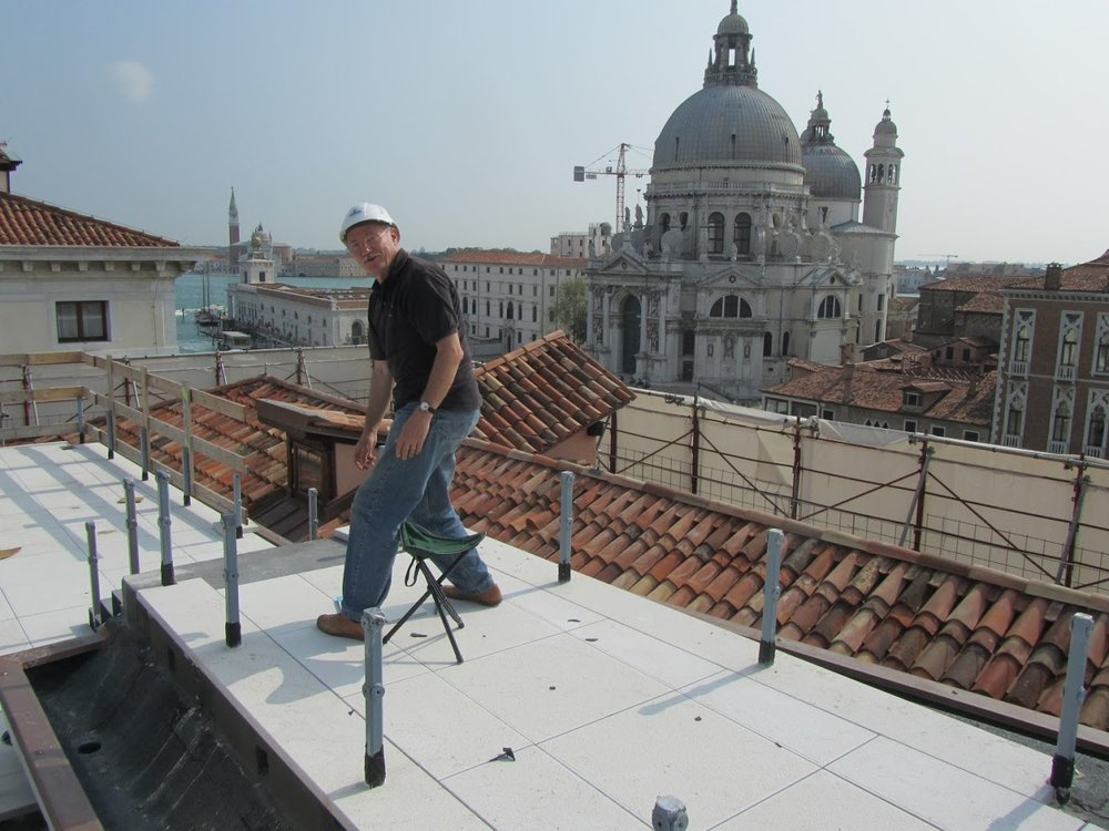 On the GRITTI PALACE HOTEL - Venice building site 2012