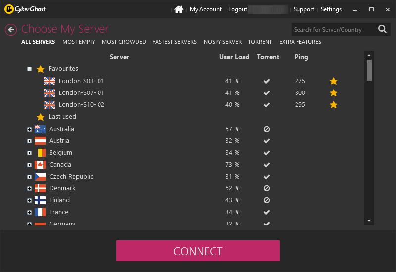 vpnConfiavel - cyberghostvpn- servers.png