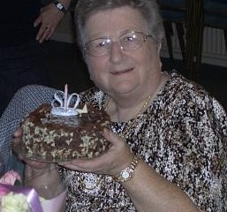 Grace on her 80th birthday