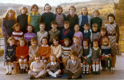 Kinlochard Primary School - 1974