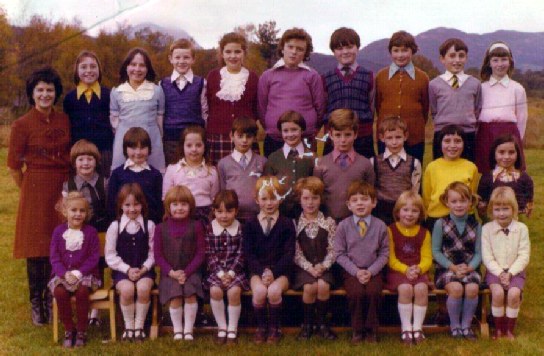 Kinlochard Primary School, 1975