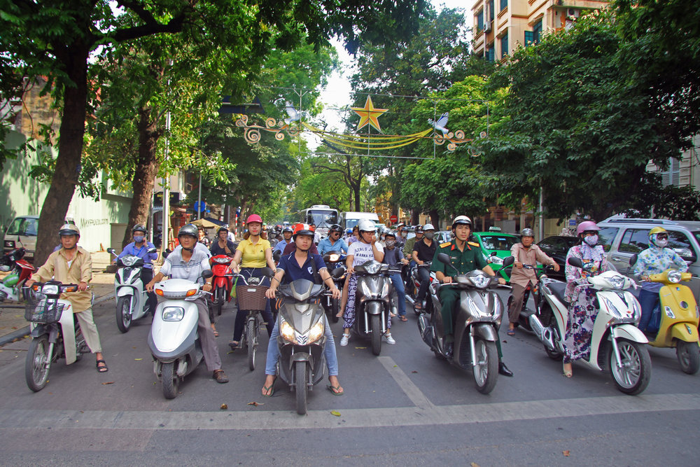 Traffic control technologies are coming from the US to Vietnam