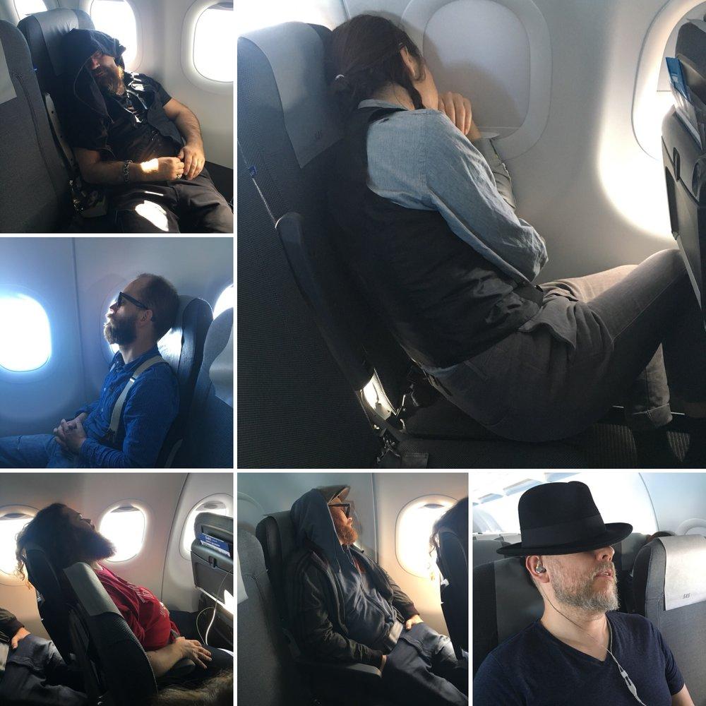 Alla sov, utom jag.