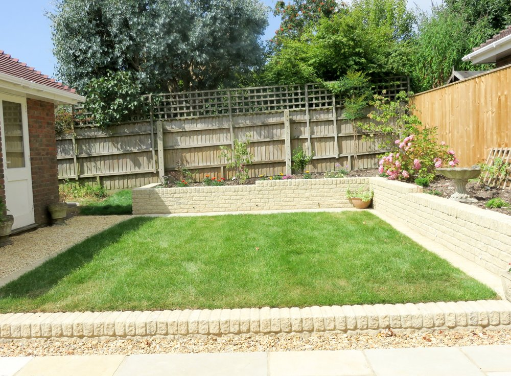 Hampshire Village Back Garden re-design