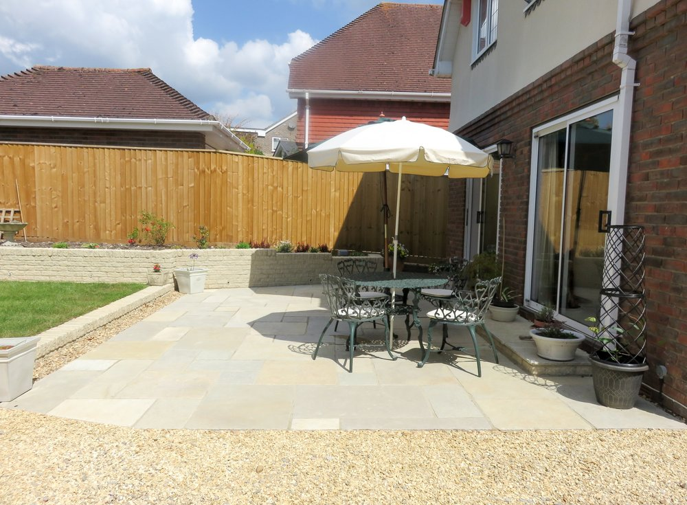 way Village, Back Garden Design