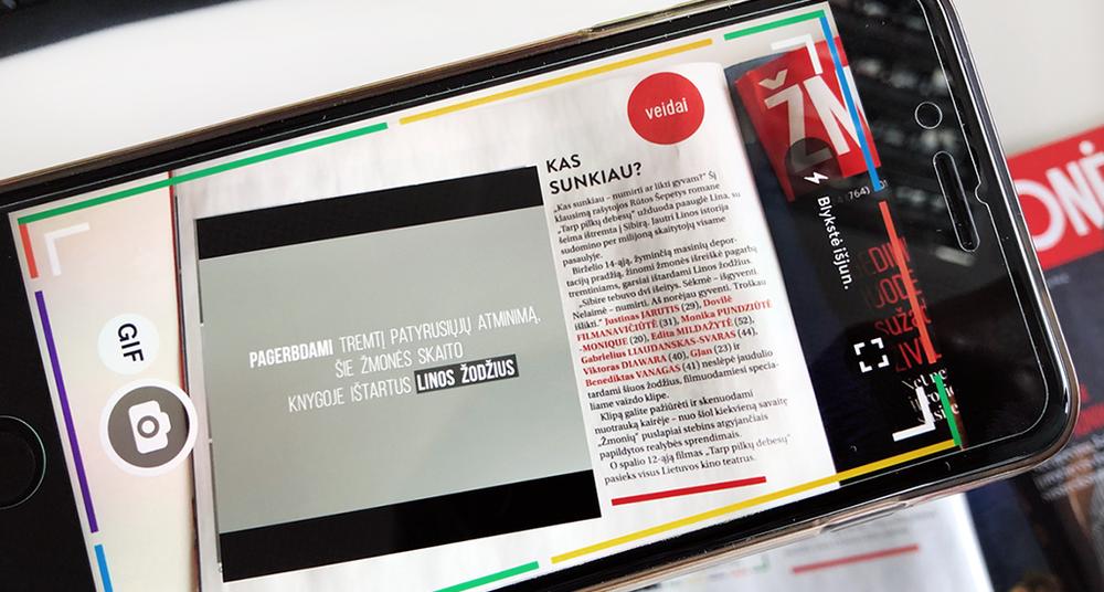 """Žurnalas """"Žmonės"""" kviečia pasinerti į papildytą realybę - Kai atgyja spaudos puslapiai"""