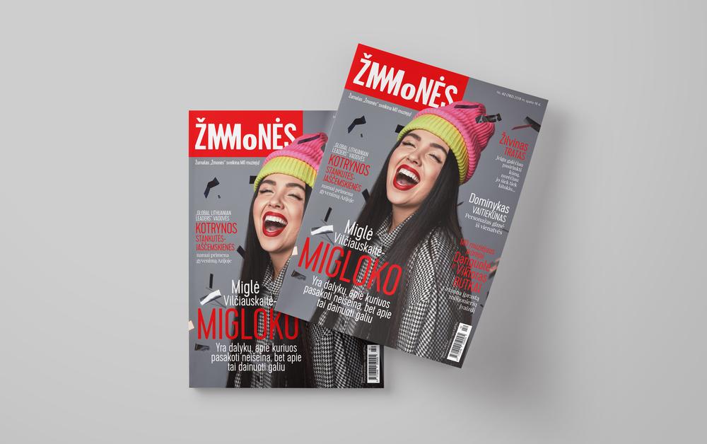 """Vienam numeriui pasikeitė žurnalo logotipas - Žurnalas """"Žmonės"""" sveikina MO muziejų."""