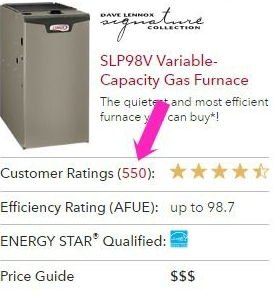 Lennox Furnace Reviews