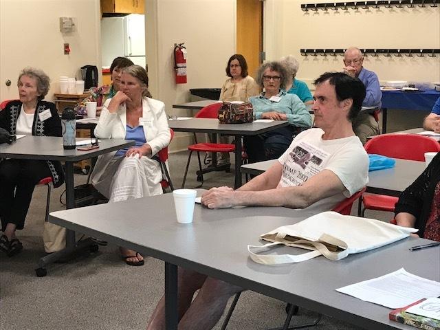 Meeting at Watauga County library