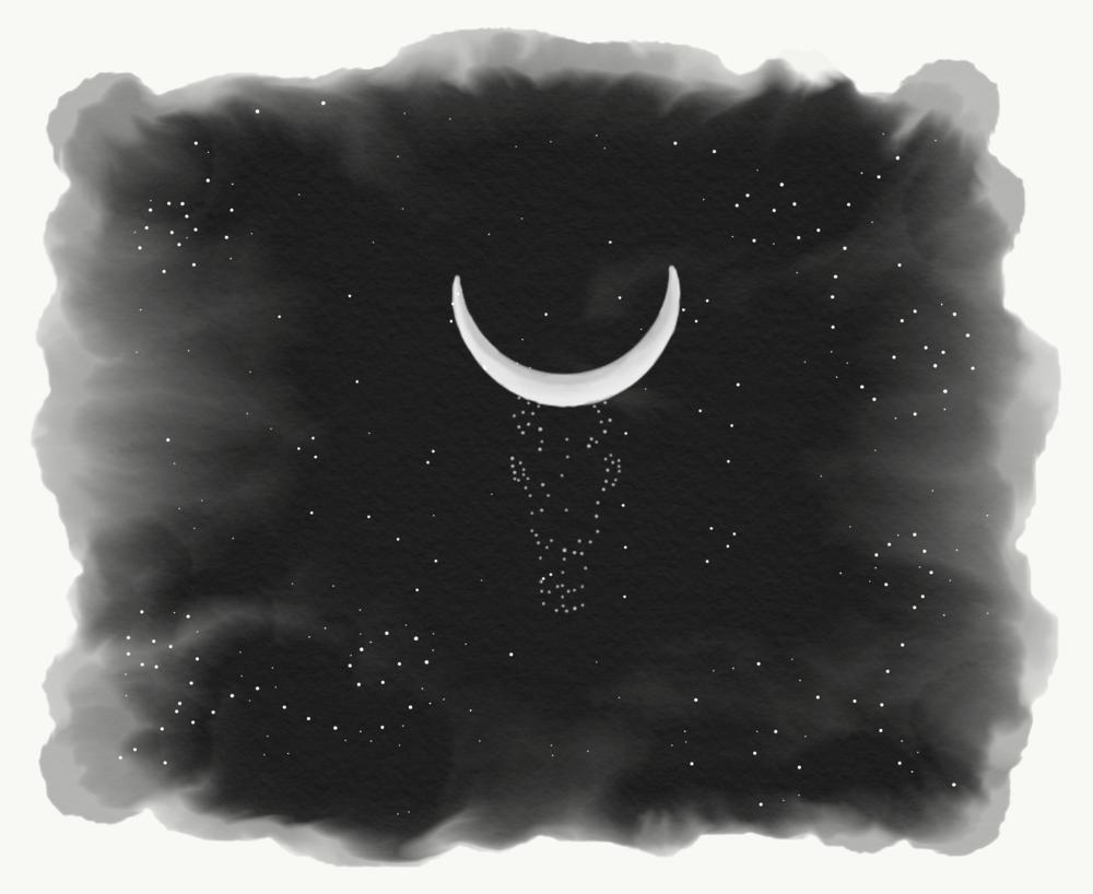 Moonimals III (Adobe Sketch/Draw 2017)