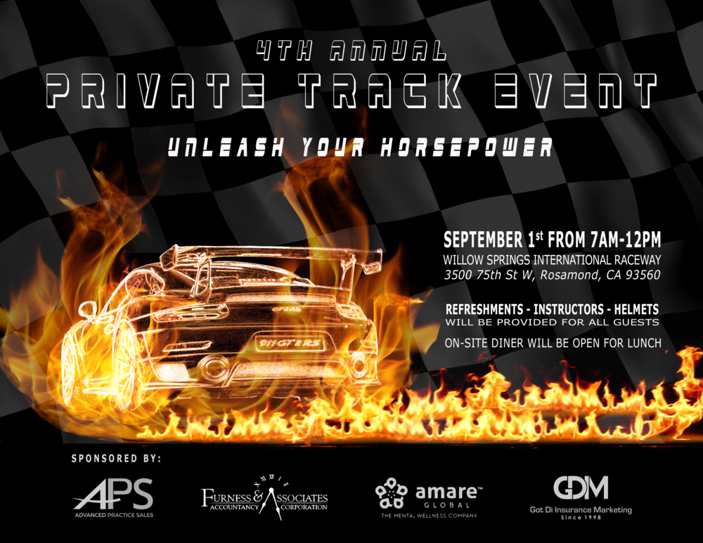 Company Event Flyer (Adobe Photoshop 2018)