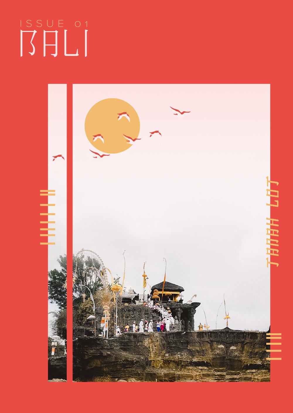 Bali Postcard (Adobe Photoshop 2018)