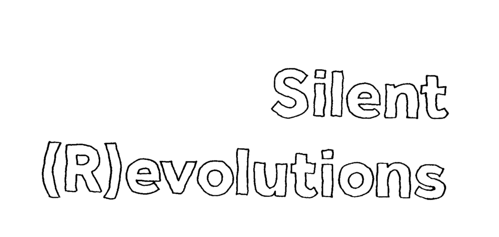 silent revolution typo bw.png