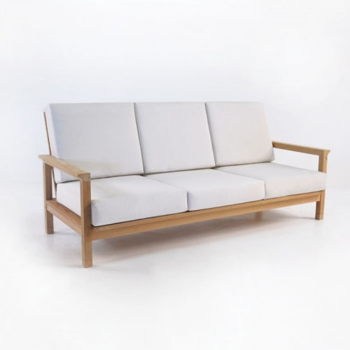 Monterey Teak Outdoor Sofa/ Teak Warehouse