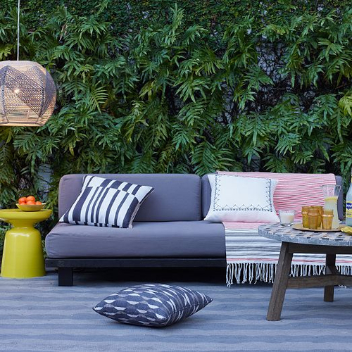 Charming Tillary Outdoor Modular Sofa From West Elm