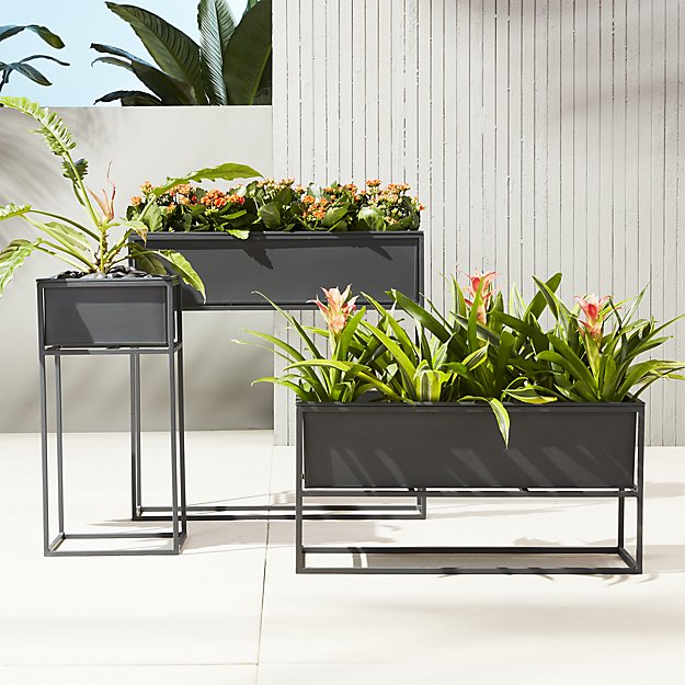 Kronos Planters from CB2