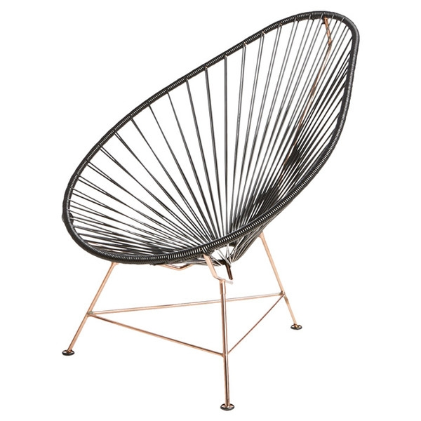 Black Egg Chair from CB2