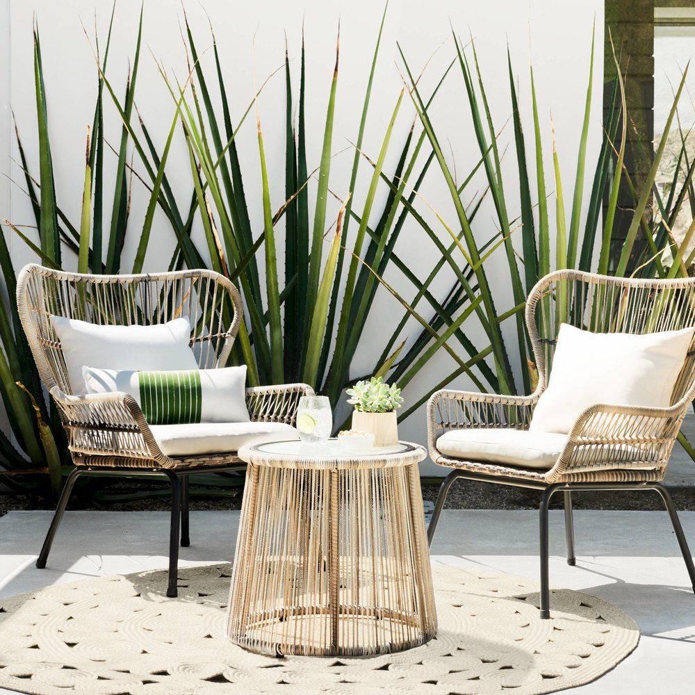 3-piece rattan set from Target