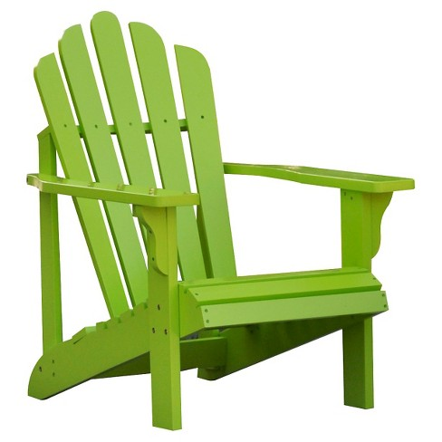 Green Adirondack Chair from Lowes