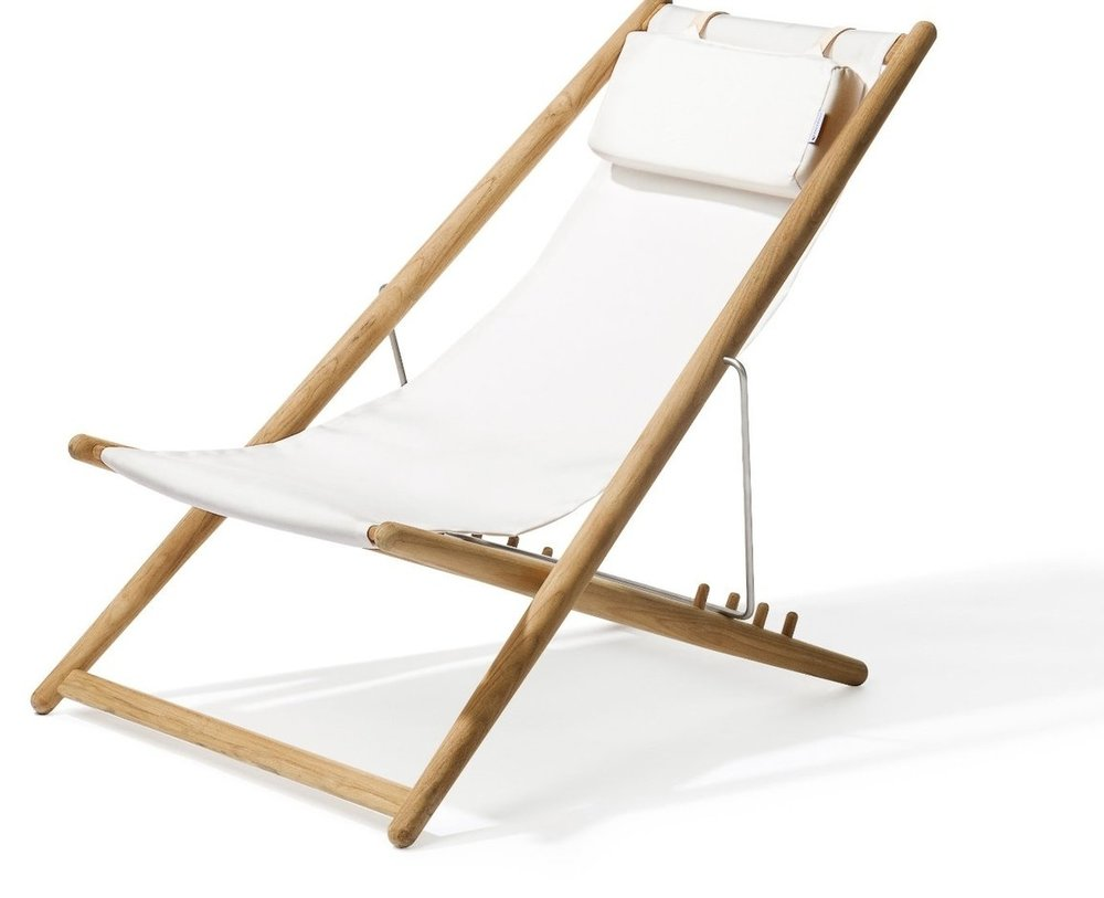 Teak Outdoor Folding Chair