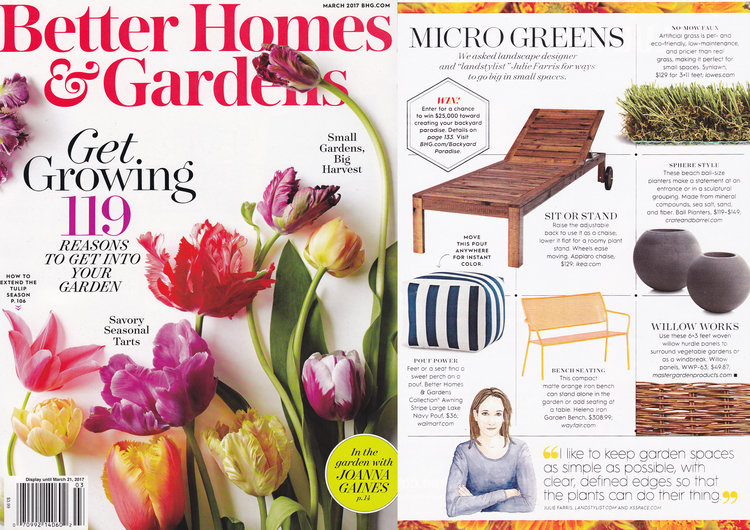 Better Homes& Gardens   March 2017