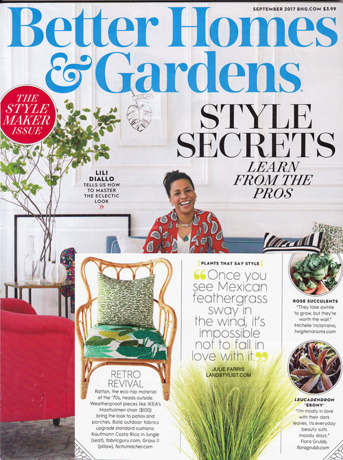Better Homes and Gardens,  September 2017