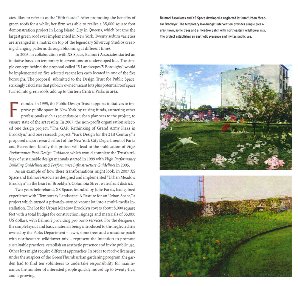 Find out more about the Urban Meadow here :