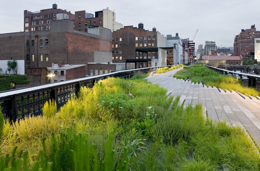 The High Line As Inspiration For Your Rooftop Garden Landstylist