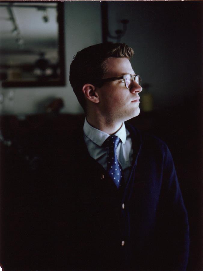 Untitled portrait of Owen M. McCafferty II ©2012 by Kaeltlyn McCafferty