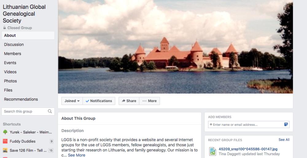 Lithuanian Global Genealogical Society