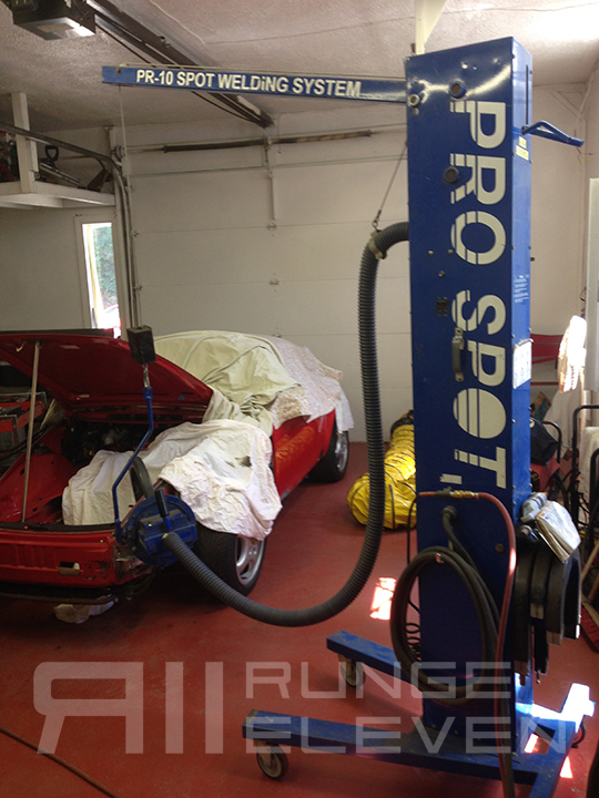 Porsche 911 Runge Coachwork Celette bodywork 180.JPG