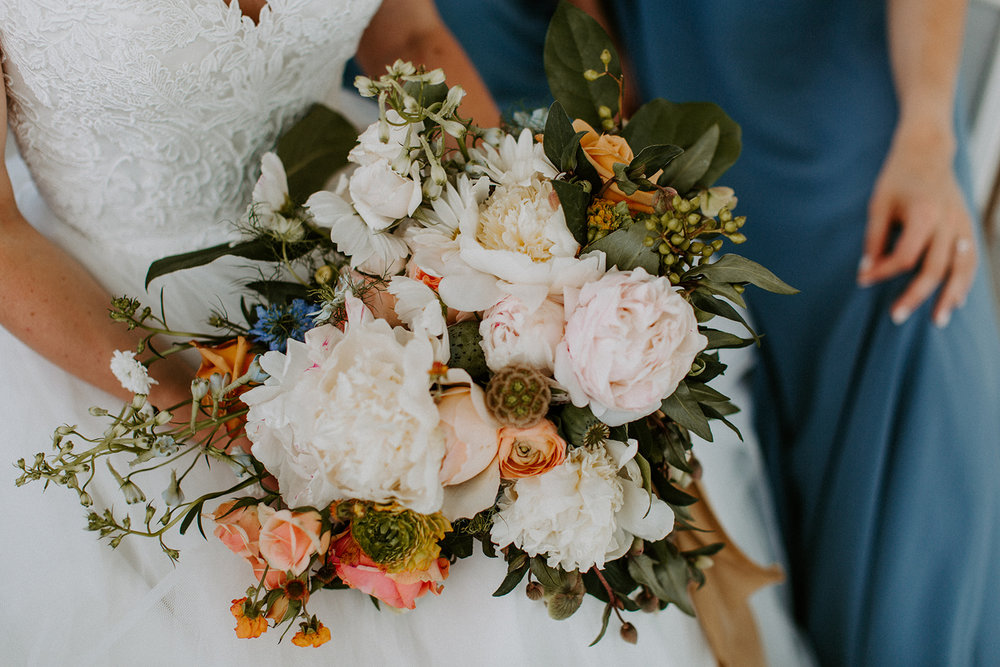 The flowers were one of the things that made my wedding and one of the best investments I made. - - Lauren Perkins, Bride