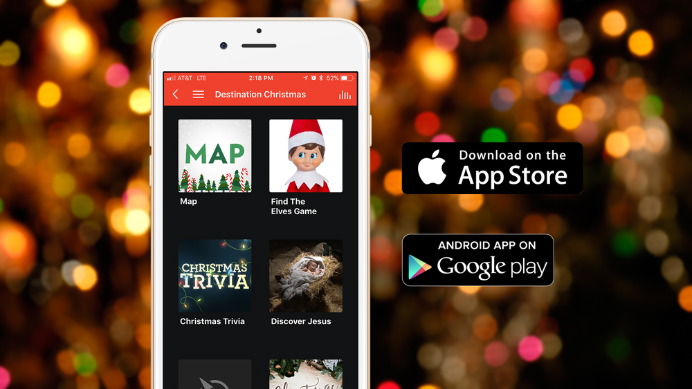 Enhance your Destination Christmas experience with the Central App. Download it today so you're ready for the event!